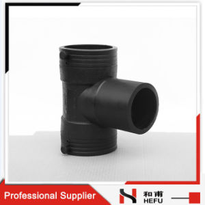 Joint Pipe Tube Pipe Fittings HDPE Custom Butt Fusion Equal Tee pictures & photos