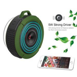 5W Drive Suction Cup Buit-in Mic Handsfree Speakerphone Wireless Waterproof Speaker pictures & photos