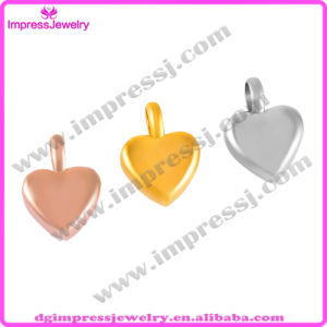 Stainless Steel Pendant Ashes Keepsake Urn Heart Charm Necklace (IJA008) pictures & photos