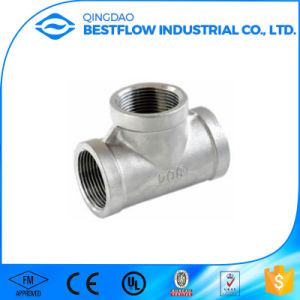 Furniture Fitting Screw API 150lbs Weld Threaded Tee Pipe Fitting pictures & photos