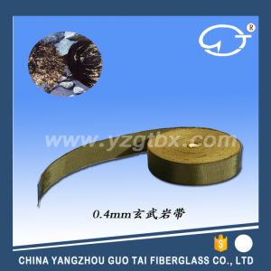 Hot Sale Basalt Fiber Braided Tape pictures & photos