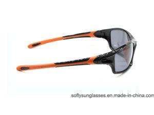 New Outdoor Fashion Black& Orange Sports Polarized Safety Sunglasses Cycling Eyewear pictures & photos