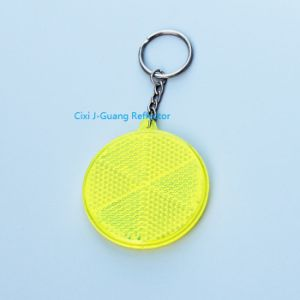 Reflective Keychain for High Quality (Jg-T-01) pictures & photos