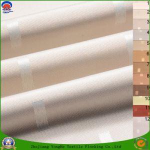 Home Textile Flame Retardant Blackout Woven Polyester Jacquard Curtain Fabric pictures & photos