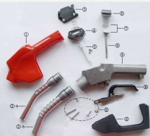 Lt-MD120 Automatic Nozzle for Fuel Dispenser pictures & photos