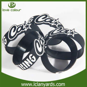 Wholesale Screen Printed Wrist Silicone Hand Band for Customized