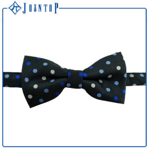 Hight Quantily Solid Color Bow Tie Self Polyester Black pictures & photos