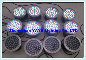 Yaye 18 IP68 RGB 18W LED Underwater Light / 18W LED Fountain Light / LED Fountain Lamp with DMX512 Controller pictures & photos