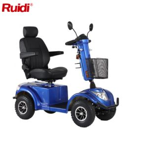 Four Wheel Handicapped Scooter LCD Display Mobility Scooter pictures & photos