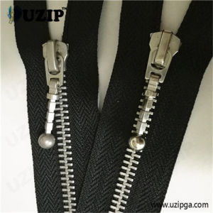 #5 Aluminum Zipper / 5 Inch Separating Zipper / Heavy Duty Open Ended Zips / Zipper Manufacturer