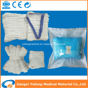 Medical Supplies Disposable Lap Sponge 45cmx45cm-4ply pictures & photos