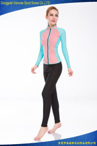 Fashion Cr Super Stretchy Woman′s Scbua Dive Surf Wetsuit (50% off sample) pictures & photos