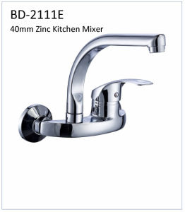 Bd2111e 40mm Single Lever Zinc Kitchen Faucet pictures & photos