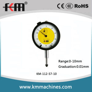 Dial Indicator with 0.01mm Graduation and 57mm Dial Bezel pictures & photos