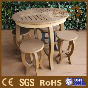 Foshan Leisure Garden Set Outdoor Wooden Desk and Chair pictures & photos