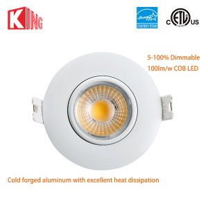 ETL & Energy Star 8W 3inch Indoor Recessed LED Can Lights pictures & photos