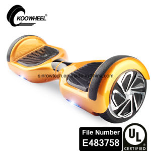 Safe UL2272 Certificated 2 Wheel Self Balancing Scooter Electric Hoverboard for Adults Personal Transporter pictures & photos