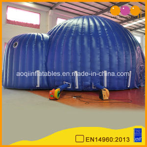 Customized Large Blue Inflatable Tent Camping for Outdoor (AQ52247) pictures & photos