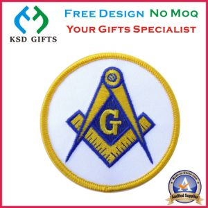 Stock Freemason Masonic Embroidery Patch pictures & photos