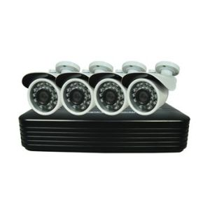 Promotional 1080P 2.0MP 4CH Ahd CCTV Camera DVR Kit, Security Systems