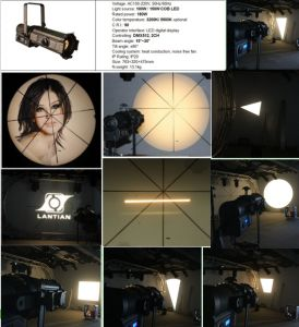LED Profile Spot Ellipsoidal Theater Gobo Projector Light pictures & photos