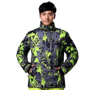 Ski Clothes Ski Jacket Warm Wind Waterproof Men ′s Ski Suit pictures & photos