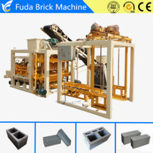 Qt4-25 Automatic Concrete Hollow Block Making Machine Price List pictures & photos