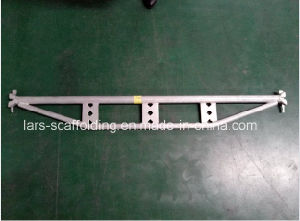 2.13m/7′ Durable Safe Ringlock Scaffolding System Truss Ledger Reinforce Ledger pictures & photos