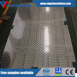 5mm Thick Aluminum Tread Plate Metal Supplier pictures & photos