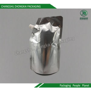 Plastic Laminated Foil Stand up Packaging Bag for Beverage / Daily Chemical Products pictures & photos