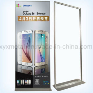 Advertising Exhibition Posters Hangers Aluminum Vertical Display Stand pictures & photos