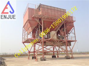 Dust Proof Railed Mounted Hopper for Discharging Bulk Cargo Movable Hopper with Deduster pictures & photos
