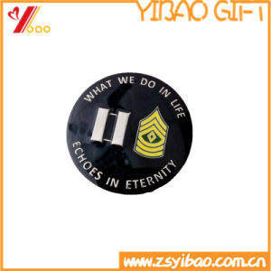 Double Coins Plating Copper Customed Logo Souvenir Gift (YB-HD-139) pictures & photos