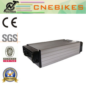 High Capacity Rear Rack Lithium Pack 48V 15ah Battery for Electric Bicycle Kit pictures & photos