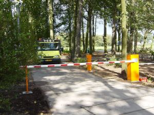 Automatic Traffic Barrier Gate with Straight Boom for Toll Station pictures & photos