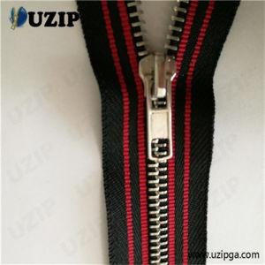 Metal Zipper Manufacturers / One-Way Separating Zipper / Shiny Silver Zipper
