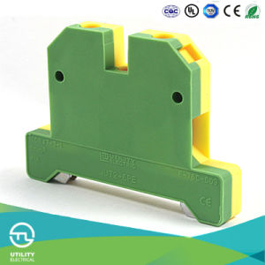 Ground Screw Terminal Block Jut2-6PE Weidmuller Connector pictures & photos