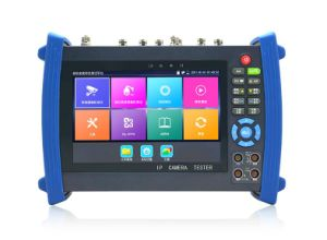 New 7 Inch H. 265 4k IP CCTV Tester Monitor IP Cvbs Camera Tester Rapid Onvif WiFi Tdr for RJ45 HDMI Input Poe 12V Output