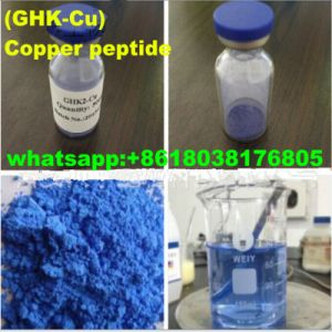 Safety Repair Scarring Cosmetics Copper Peptide (GHK-Cu) for Anti-Wrinkle CAS: 49557-75-7 pictures & photos