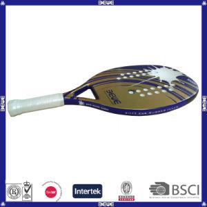 New Arrival Golden Fiberglass Beach Tennis Racket Btr-4006 Xpro pictures & photos