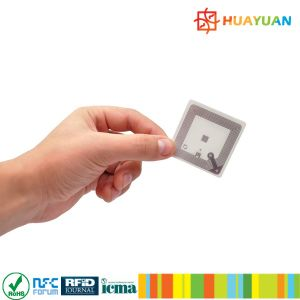 ISO18092 8X18mm MINI SIZE Smart RFID NFC ntag213 Label with Adhesive tags pictures & photos