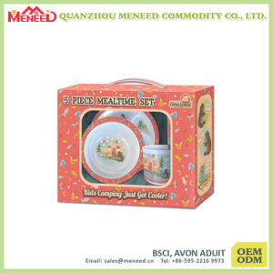 New Arrival Food Safety Children Use Melamine Breakfast Set pictures & photos