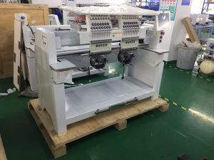 Two Head Computerized Cap Embroidery Machine with High Speed Good Quality pictures & photos