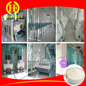Can Mill Mixed Wheat of 100t/D Wheat Flour Milling Plant pictures & photos