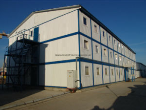 Three Stories Accomodations of Light Steel Structure Materials with Easy Installation pictures & photos