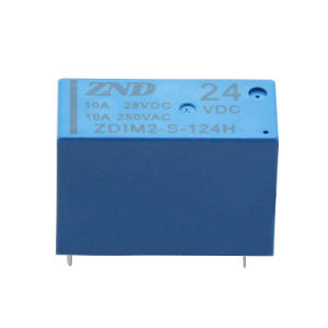 Zndim2 14f Power Relay Small Size 10A 24V 4pin Normally Open Type Relay pictures & photos