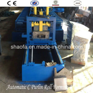 Hydraulic Type C Purling Roll Forming Machine pictures & photos