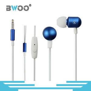 Handsfree Mic 3.5mm Aux in-Ear Earphone Noise Cancelling pictures & photos