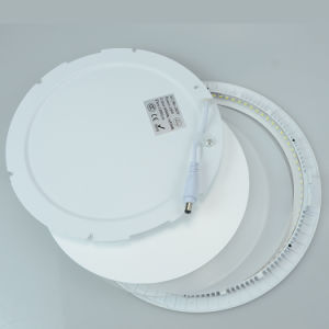 Manufacturer Best Quality Aluminum 15W LED Round Panel Light pictures & photos