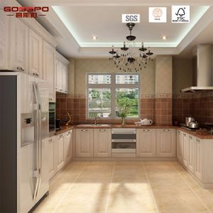 Hot Sell Classic Mahogany Wooden Kitchen Cabinet (GSP5-044) pictures & photos